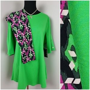 Gorgeous Green Lularoe Leggin Set